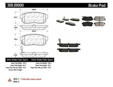 Disc Brake Pad Set-SE-R Rear Stoptech 309.09000