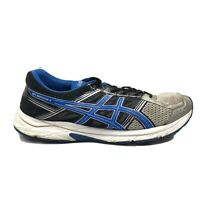 Asics Gel Contend 4 Running Shoes Mens Size 13 Black White  Blue Sneakers T715N