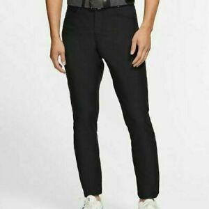 Nike Men's Slim Fit Flex Dri-Fit 6 Pocket Golf Pants, Brand New WT, Black 32X32