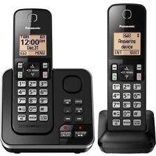 Panasonic Kx-Tgc362B Dect 6.0 Plus 1.90 Ghz Cordless Phone - Black