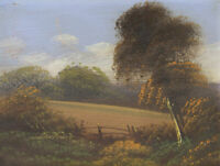 Mid 20th Century Oil - Rural Landscape