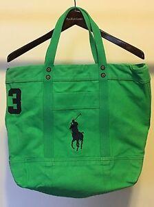 Polo Ralph Lauren Men's Green Tote