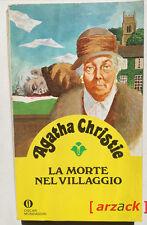 OSCAR GIALLO MONDADORI 53 Agatha Christie LA MORTE NEL VILLAGGIO