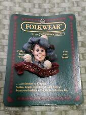 Boyds Bears And Friends Folkwear Pin, McDivot, Golf Lie Golf. 1995.