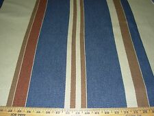 "~2 4/8 YDS~RALPH LAUREN~""YAMPA RIVER STRIPE"" UPHOLSTERY FABRIC FOR LESS~"