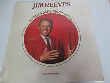 JIM REEVES~A LEGENDARY PERFORMER~ includes ILLUSTRATED BOOKLET ~FactorySealed LP