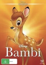 BAMBI DVD DISNEY NEW & SEALED- FREE POSTAGE! REGION 4
