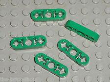 5 x LEGO TECHNIC green Beam 3 x 0.5 Liftarm ref 6632 / Set 42008 8000 8208 21127