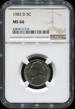 1983 D 5C MS 66 NGC USA coin