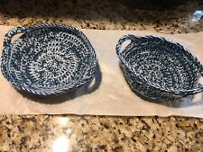 New listing Set Of 2 Cozie Matching Holders New! W/Handles! Two Sizes! Bowl Potholder!