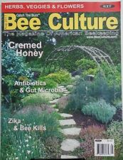 Bee Culture August 2017 Cremed Honey Antibiotics & Gut Microbia FREE SHIPPING sb