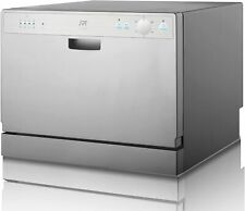 Spt Sd-2202S Countertop Dishwasher with Delay Start (Silver)