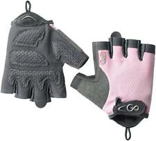 GoFit Women's ProTrainer Pearl-Tac Grip Lifting Gloves MEDIUM Pink/Gray inc VAT