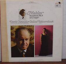 Mahler Symphony No. 4 in G Major David Oistrakh Galina Vishnevskaya 102316LLE