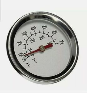 """Char-Broil Grill Temperature Gauge Replacement Thermometer Fits 3/8"""" 50 - 700*"""