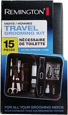 Remington Men's 15 Piece Travel Grooming Kit