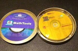 SRA Real Math Technology e Math Tools CD ROM w/ storage tin   K-6