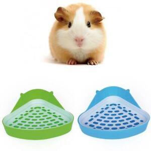 Small Animal Toilet Corner Potty, Rabbit Toilets Litter Tray Tray Litter Pet Neu