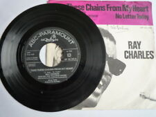 Ray Charles – Take These Chains From My Heart Label: ABC-Paramount – AP 22.152