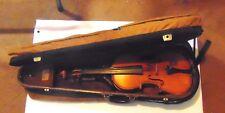 Old Antique Albert Moritz Excelsior violin 120 + years old V poplar in its day