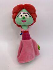 "Gund Veggie Tales Sweetpea Beauty Petunia Rhubarb Plush Stuffed Toy Big Idea 11"""