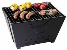 NEW Camping Folding BBQ Grill Steel Charcoal with Carry Bag Portable Foldable