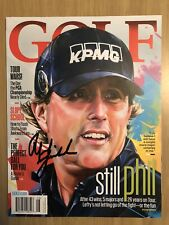 Phil Mickelson Signed Autographed Golf Magazine