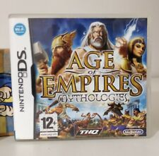 AGE OF EMPIRES MYTHOLOGIES NINTENDO DS COME NUOVO ITALIANO COMPATIBILE 2ds/3ds