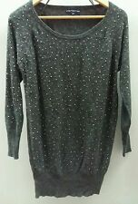 Store Twenty One gris embelli Long Pull Taille S < C2026