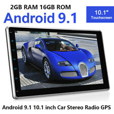 10.1 inch Android 9.1 Detachable Car GPS Stereo Navi Touch Screen No-dvd Radio