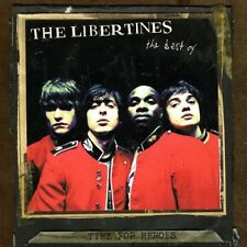 THE LIBERTINES TIME FOR HEROES BEST OF NEW SEALED COLOURED VINYL LP IN STOCK