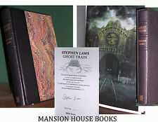 Stephen Laws Ghost Train Signed Deluxe Edition