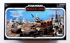 STAR WARS NEW THE VINTAGE COLLECTION IMPERIAL COMBAT ASSAULT HOVER TANK MISB TVC