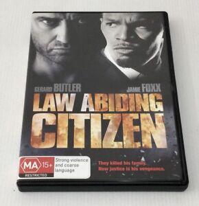 Law Abiding Citizen DVD