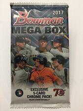 MEGA BOX PACK! 2017 Bowman Baseball Mojo Refractor