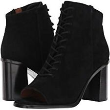 New in Box! Frye Boots 'Amy' peep-toe Lace-Up Bootie, Black. Women's Size 8.5.