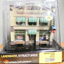 Woodland Scenics HO #5053 Dugan's Paint Store (Built-&-Ready) 1:87th Scale / NEW