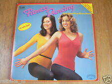 LP RECORD VINYL PIN-UP GIRLS FITNESS DANCING WITH SUPER POSTER IM DISCO SOUND