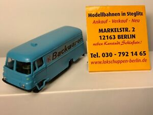 Robur K Backwaren Transporter, DDR, Kleinserie, wie neu, OVP 1:87 [K]
