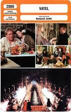 FICHE CINEMA : VATEL - Depardieu,Thurman,Roth,Sands,Dombasle,Joffé 2000