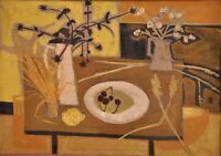 Dany LARTIGUE (1921-2017) HsT 1959 Nle Ecole de Paris Jeune Peinture Fauvisme
