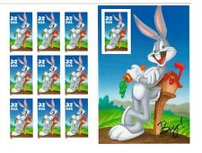 Us Stamps 1996 Bugs Bunny Sheet