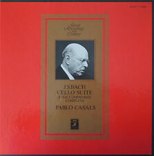 Casals: Bach 6 Cello Suites - Angel Records / EMI Japan GR-2317-19 (3LP box), NM