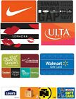 $10 to $100 Physical Gift Cards - Standard 1st Class Mail Delivery - Athentic