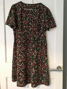 M&S Limited Edition Flower Ladies Dress Size 10