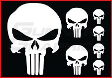 Punisher pack Fits Ford Mustang rear window decal Punisher decals 7 decal set