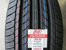 2 New 255/35ZR20 Inch Nankang NS-20 Tires 255 35 20 2553520 R20