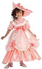 Girls GEORGIA PEACH Costume Southern Belle Dress Petticoat Hat Child Small 4 5 6