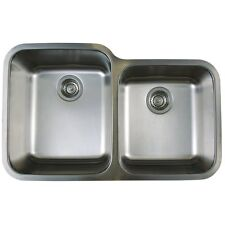 Blanco 441023 Stellar 1-3/4  2-Bowl Stainless Steel Kitchen Sink 18G. NEW!