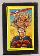RARE & HTF ~ AMAZON WOMEN ON THE MOON ~Vtg 1988 MCA Home Video~Beta (Not VHS)